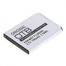 OTB, Battery for Motorola Motofone F3 BD50 3.7V Li-ion, Motorola phone batteries, ON5073, EtronixCenter.com
