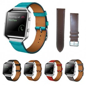NedRo, Trendy Eco Leather Bracelet for Fitbit Blaze, Bracelets, AL203-CB