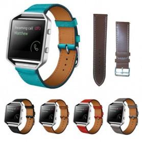 NedRo - Trendy Eco Leather Bracelet for Fitbit Blaze - Bracelets - AL203 www.NedRo.us