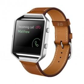 NedRo, Trendy Eco Leer armband bandtje polsband voor Fitbit Blaze, Armbanden, AL203-CB, EtronixCenter.com