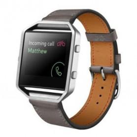 NedRo - Trendy Eco Leather Bracelet for Fitbit Blaze - Bracelets - AL203-GY www.NedRo.us