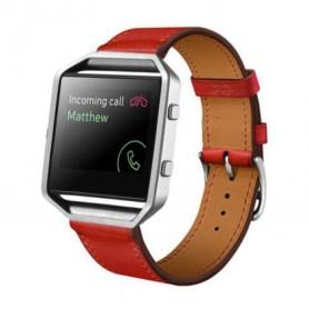 NedRo - Trendy Eco Leer armband bandtje polsband voor Fitbit Blaze - Armbanden - AL203-RE www.NedRo.nl