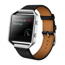 NedRo - Trendy Eco Leer armband bandtje polsband voor Fitbit Blaze - Armbanden - AL203-BL www.NedRo.nl