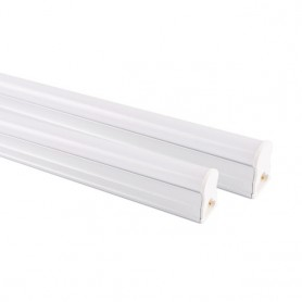 NedRo - LED T5 Connectable FL fixture 57cm 240V FL-tube 11W 3500K - Warm White - TL and Components - AL204 www.NedRo.us