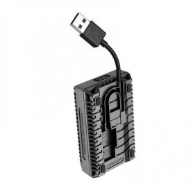 NITECORE, Nitecore USN1 double USB charger for Sony NP-FW50, Sony photo-video chargers, BS054
