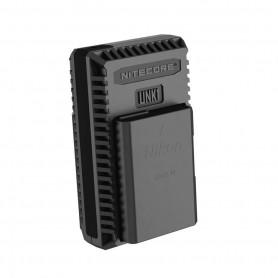 NITECORE, Nitecore UNK1 USB lader voor Nikon EN-EL14 EN-EL14a EN-EL15, Nikon foto-video laders, BS056, EtronixCenter.com