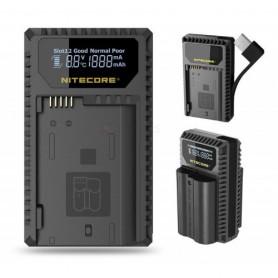 NITECORE, Nitecore UNK1 încărcător USB pentru Nikon EN-EL14 EN-EL14a EN-EL15, Nikon încărcătoare foto-video, BS056, EtronixCe...
