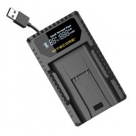 NITECORE - Nitecore ULM9 încărcător USB pentru Leica BLI-312 - Alte încărcătoare foto-video - MF010 www.NedRo.ro