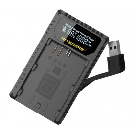 NITECORE, Nitecore UCN1 USB charger for Canon LP-E6, LP-E6N, LP-E8, Canon photo-video chargers, BS061