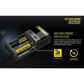 NITECORE - Nitecore Supercharger SC2 EU for Li-ion, NiMH, Ni-Cd - Battery chargers - BS062