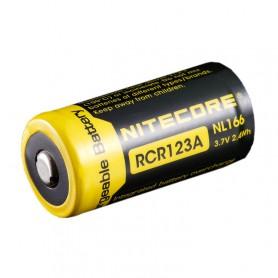 NITECORE - Nitecore RCR123A Li-ion NL166 650mAh 3.7V - Andere formaten - BS064-4x www.NedRo.nl