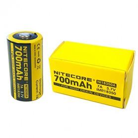 NITECORE - Nitecore IMR18350 Li-ion 700mAh 3.7V 7A NI18350A - Andere formaten - BS065-4x www.NedRo.nl