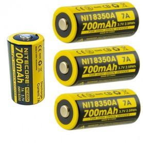 NITECORE - Nitecore IMR18350 Li-ion 700mAh 3.7V 7A NI18350A - Other formats - BS065-CB www.NedRo.us