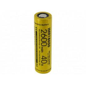 NITECORE - Dou-Pack Nitecore IMR18650 Li-ion 2600mAh 3.7V 40A - Size 18650 - BS067-8x www.NedRo.us