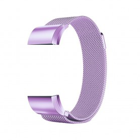 NedRo - Metal bracelet for Fitbit Charge 2 magnetic closure - Bracelets - AL188-CB