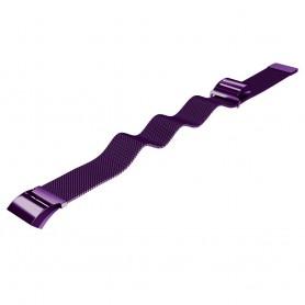 NedRo - Metalen armband voor Fitbit Charge 2 magneet slot - Armbanden - AL188-PU-S www.NedRo.nl