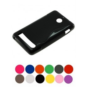 OTB - TPU Case for Sony Xperia E1 S-Curve Black ON621 - Sony phone cases - ON621 www.NedRo.us
