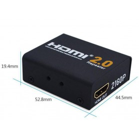 NedRo, 30m HDMI extender repeater booster 4Kx2K 3D Full HD1080P, HDMI adapters, AL208, EtronixCenter.com