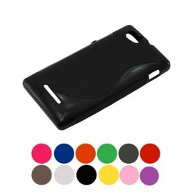 OTB, TPU Case voor Sony Xperia M, Sony telefoonhoesjes, ON978-CB, EtronixCenter.com