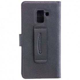 Commander - Commander book case for Samsung Galaxy A8 (2018) - Samsung phone cases - ON5098 www.NedRo.us