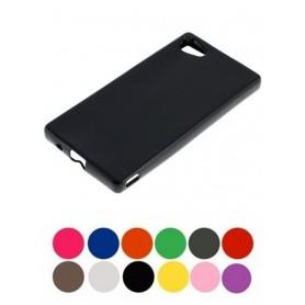 OTB - TPU Case voor Sony Xperia Z5 Compact zwart ON2023 - Sony telefoonhoesjes - ON2023 www.NedRo.nl