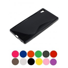 OTB - TPU Case for Sony Xperia Z5 S-Curve transparent ON1992 - Sony phone cases - ON1992 www.NedRo.us