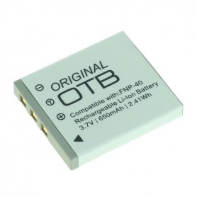Battery for Fuji NP-40 / Pentax D-LI85 / Samsung SLB-0737/0837 Li-Ion