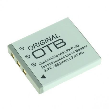 OTB, Batterij voor Fuji NP-40 / Pentax D-LI85 / Samsung SLB-0737/0837 Li-Ion, Fujifilm foto-video batterijen, ON1400, Etronix...