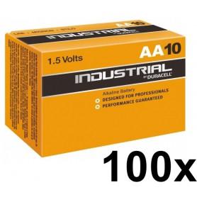 Duracell - Duracell Industrial AA LR6 penlite - AA formaat - NK224-100x www.NedRo.nl