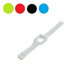 OTB - Silicon bracelet compatible with Apple Watch 42mm white ON1573 - Covers - ON1573 www.NedRo.us