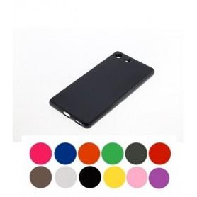 OTB - TPU Case for Sony Xperia M5 negru ON3237 - Sony phone cases - ON3237 www.NedRo.us