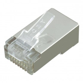 NedRo, RJ45 Set Connector - conectori + protectoare cauciuc, Adaptoare retea, YNK301-CB, EtronixCenter.com
