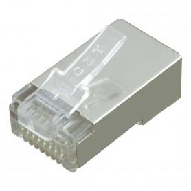 NedRo - RJ45 Set Plug met Boots - Netwerk adapters - YNK301-50x www.NedRo.nl
