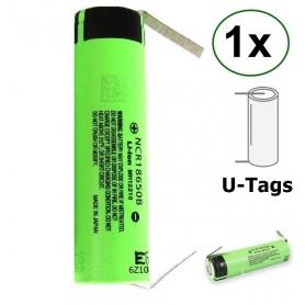 Panasonic, Panasonic 3350mAh NCR18650B 3.7V 6.7A battery, Size 18650, NK090-CB