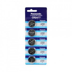 Panasonic - Panasonic Professional CR2477 P120 3V 1000mAh Lithium button cell - Button cells - NK257-5x www.NedRo.us