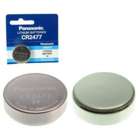 Panasonic - Panasonic Professional CR2477 P120 3V 1000mAh Lithium button cell - Button cells - NK257-10x www.NedRo.us