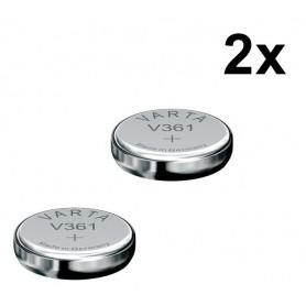 Varta - Varta V361 18mAh 1.55V horloge knoopcel batterij - Knoopcellen - BS078-2x www.NedRo.nl