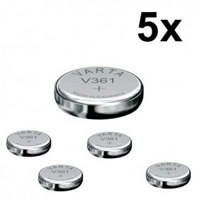 Varta - Varta V361 18mAh 1.55V horloge knoopcel batterij - Knoopcellen - BS078-5x www.NedRo.nl