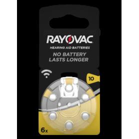 Rayovac, Rayovac Acoustic Gehoorapparaat batterijen 10 HA10 PR70 ZL4 105mAh 1.4V, Knoopcellen, BS079-CB, EtronixCenter.com