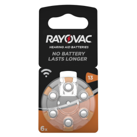 Rayovac, Rayovac Acoustic HA13 / 13 / PR48 / ZL2 310mAh 1.4V gehoorapparaat batterij, Knoopcellen, BS080-CB, EtronixCenter.com