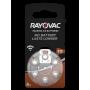 Rayovac - Rayovac Acoustic HA312 / 312 / PR41 / ZL3 180mAh 1.4V Hearing Aid Battery - Hearing batteries - BS081-CB www.NedRo.us
