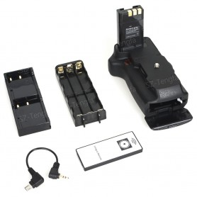 OTB - Battery Grip compatible Nikon D40-D60 D3000 D5000 - Nikon photo-video batteries - AL213 www.NedRo.us