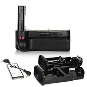 OTB - Battery Grip compatible Nikon D40-D60 D3000 D5000 - Nikon photo-video batteries - AL213 www.NedRo.us