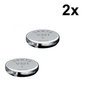Varta - Varta Electronics V321 616SW horlogebatterij 13mAh 1.55V - Knoopcellen - BS091-2x www.NedRo.nl