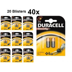 Duracell - Duracell LR1 / N / E90 / 910A 1,5 V Alkaline batterij (Duo Pack) - Andere formaten - BS093-20x www.NedRo.nl