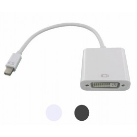 NedRo, Mini DisplayPort la DVI female Adaptor pentru Apple MacBook, DVI si DisplayPort adaptoare, YPC297-CB, EtronixCenter.com