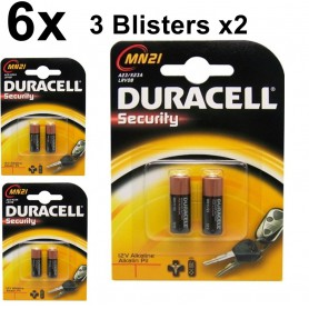 Duracell - Duracell A23 23A MN21 K23A Security 12V alkaline batterij - Andere formaten - BS096-3x www.NedRo.nl