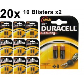 Duracell - Duracell A23 23A MN21 K23A Security 12V alkaline batterij - Andere formaten - BS096-10x www.NedRo.nl