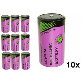 Tadiran, Tadiran SL-780 / SL-2780 / D baterie cu litiu 3.6V, Format C D 4.5V XL, NK184-CB, EtronixCenter.com