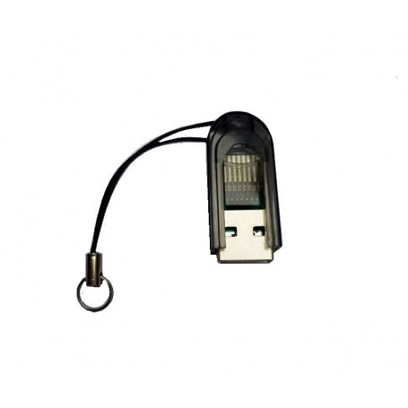 Dolphix - Micro SD MMC SDHC TF T-flash USB Memory Card Reader/Writer - SD and USB Memory - YPU206-CB